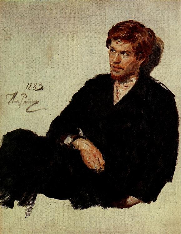 Student Nihilist - IIya Repin 1883